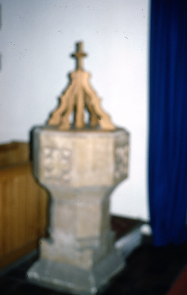 Baptismal Font, Lt Thurrock Church