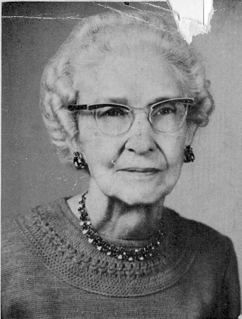 Rosabel Ashton family genealogist 1948-1959